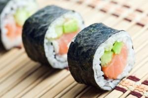 Poznajemy smaki Azji- sushi